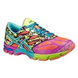 Asics Zapatillas de Running Gel-Noosa Tri 10 GS Coral/Turquesa/Rosa EU 39.5