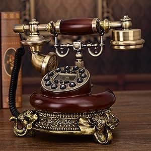 telephony l 39 ancien t l phone t l phone bureau t l phone r tro accueil american style fixe. Black Bedroom Furniture Sets. Home Design Ideas