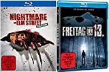Nightmare on Elm Street 1-7 Box Blu-ray + Freitag der 13. Blu-ray