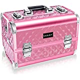 Shany Cosmetics Shany Hot Pink Diamond Premium Collection Makeup Train Case