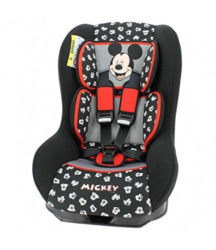 Asiento elevador para niños, de MyCarSit Disney, 0 a 18 kg, diseño de Mickey Mouse