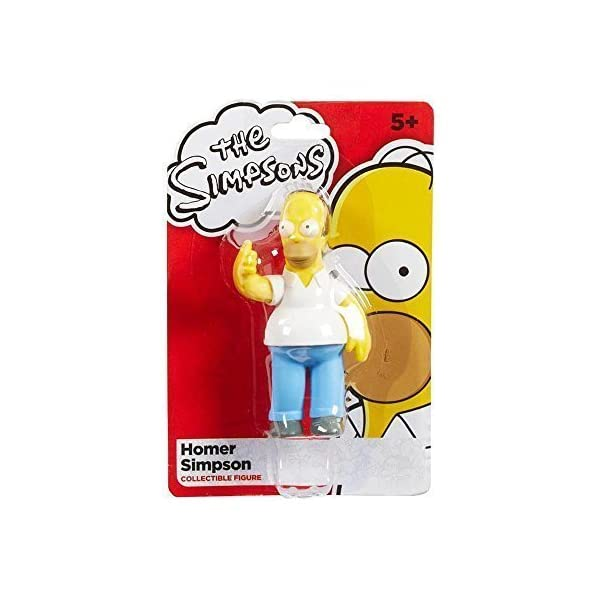 The Simpsons 9cm Homer Simpson Collectible Figure by Character Options 1