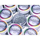 Rainbow Dust Non-Toxic Cake Glitter Decoration Sparkle Range JEWEL SILVER