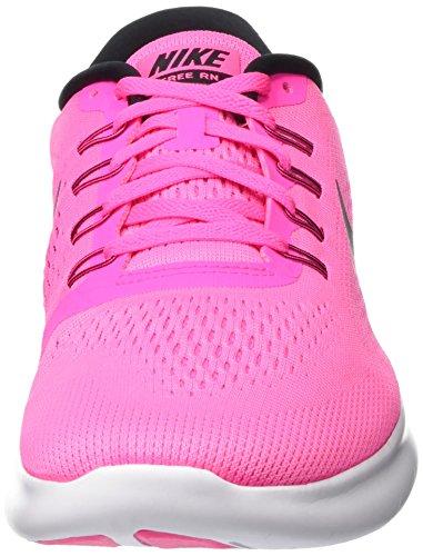 Nike Free Rn, Scarpe Running Donna Rosa (Pink Blast/Fire Pink/White/Black)