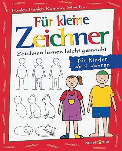 Für kleine Zeichner: Punkt, Punkt, Komma, Strich / Zeichnen lernen leicht gemacht /  für Kinder ab...