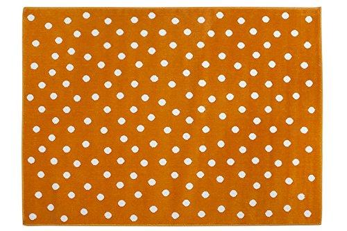 Lorena Canals Alfombra Acrílica Modelo Dots Color Naranja