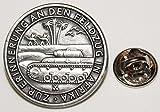 Zur Erinnerung an den Feldzug in Afrika Militär l Anstecker l Abzeichen l Pin 368