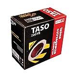 Absperrband TASO200 200m Warnband Trassenband Flatterband Sperrband Baustelle Box