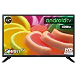 Television LED INFINITON Smart TV-Android TV (TDT2, HDMI, VGA, USB) (32 Pulgadas)