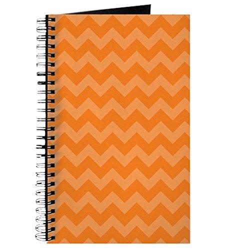 ron Muster orange–Spiralbindung Journal Notizbuch, persönliches Tagebuch, blanko ()