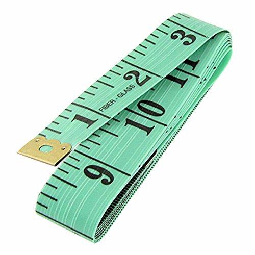 digieuro-green-soft-60-15m-150cm-sewing-cloth-tailor-flat-fiberglass-tape-body-measuring-measure-rul
