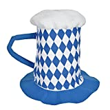 KarnevalsTeufel Bierhut, Blau-Weiß, Oktoberfest, Wiesn
