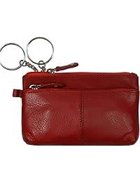 "Schlüsseletui, ""BIG KEY"", 105880 003, Damen und Herren Schlüsseletui, Leder, rot"