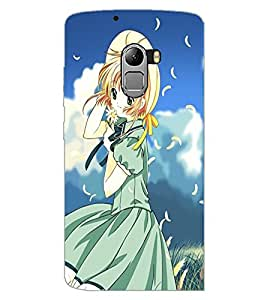 LENOVO K4 NOTE BEAUTIFUL GIRL Back Cover by PRINTSWAG