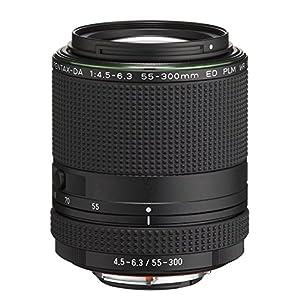 Pentax-HD-DA-55-300mm-F45-63-ED-PLM-WR-RE-Objektiv-schwarz