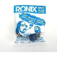 BINDUNGSSCHRAUBEN Ronix US-Gewinde 1/4-20 4er-Set inkl. Washer stainless