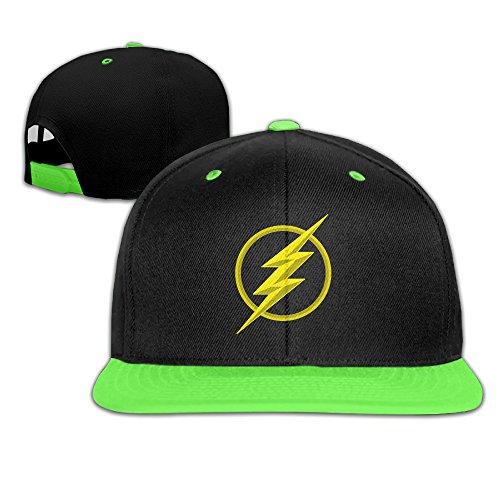 Kinder Unisex Comic The Flash Season 2Logo Hero Hip Hop Hat -  -
