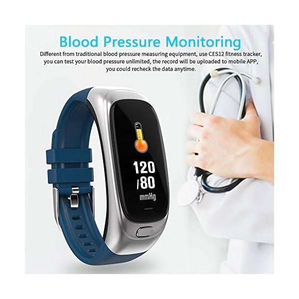 Festnight CES12 Fitness Tracker USB Flash Drive Reloj Inteligente Contador de Pasos Universal Monitor de Ritmo cardíaco Deporte Reloj Resistente al Agua 7