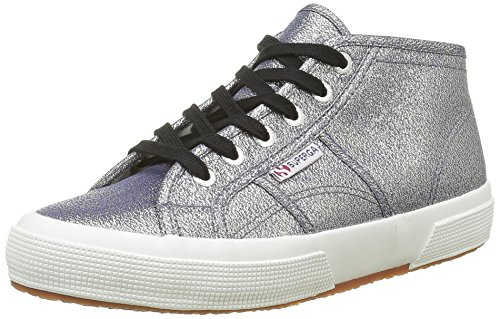 Superga 2754 Lamew Damen Hohe Sneakers Grau (Grey)