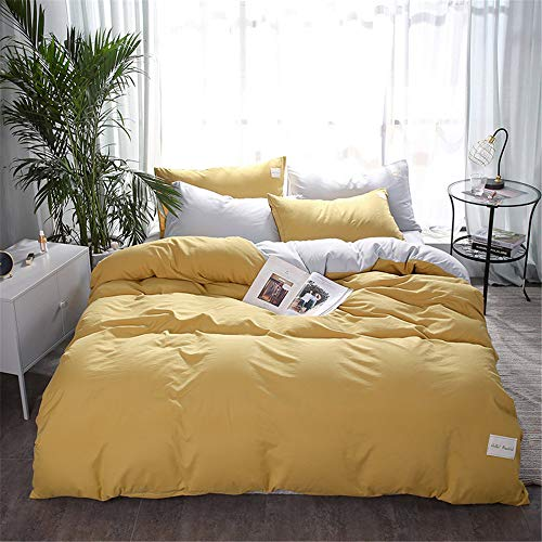YUNSW Cotton Double Queen King Size Baumwolle Bettbezug Bettbezug Bettbezug Single Double A 220x240cm - Baumwolle Queen-size-matratze