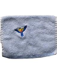 Handtuch aus Frottee mit Bestickung Papagei