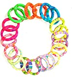 #8: Glitteria Multi-colour Hair Bands for Women and Girls (AMP-SB-O4-HBAND-MCOMBO)
