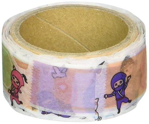 RoundTop Designer Washi Masking Tape 20mm x 5m, TIPS Charakter mit Ballon, Serie 3 (RT-MK-027)