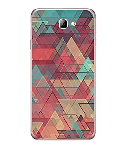 FUSON Designer Back Case Cover for Samsung On5 (2016) New Edition For 2017 :: Samsung Galaxy On 5 (2017) (Hexagonal Shape Abstract Pattern Geometric Shapes )