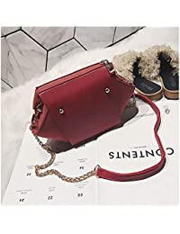 Famous Designer Brand Luxury Women Leather Handbags Quality Suede Nubuck Leather Clutch Color Red