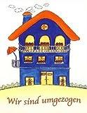 Karte Umzugsanzeige 10er Beutel Haus Wir sind umgezogen