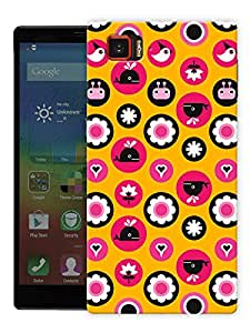 "Humor Gang Cute Whale Pattern Printed Designer Mobile Back Cover For ""Lenovo Vibe Z2 Pro K920"" (3D, Matte Finish, Premium Quality, Protective Snap On Slim Hard Phone Case, Multi Color)"
