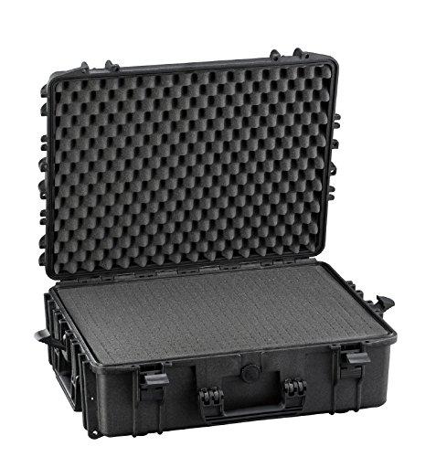 Max MAX540H190STR IP67, wasserdicht, strapazierfähig, wasser- und Materialaufnahmen mit Griff, Hartschale aus Kunststoff, Schutzhülle, Transit Pick and Pluck Schaumstoff-Koffer Werkzeugkoffer - 2