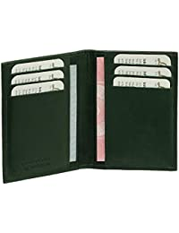 Luxus Leder Ausweisetui Ausweishülle Basic Dokumentenmappe Ausweismappe Ideal fürs Auto vers. Farben
