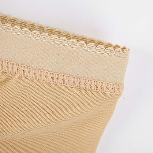 StarTreene Damen Push Up Unterhosen Unterwäsche Panties Hipsters Miederhose Shapewear Nahtlos Normaler Bund Padded Höschen EU38 Aprikose - 3
