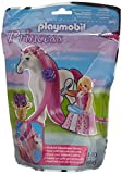 Playmobil - 6166 - Princesse Rose avec cheval  coiffer