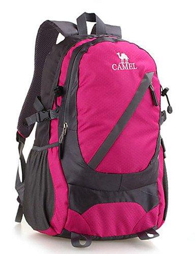 HWB/ 35 L Tourenrucksäcke/Rucksack / Travel Organizer Camping & Wandern Draußen Wasserdicht / Schnell abtrocknend / tragbar / Atmungsaktiv rose red