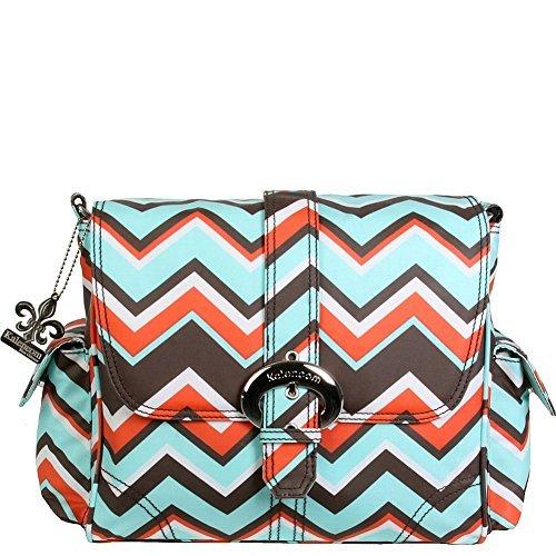 kalencom-midi-coated-buckle-bag-chevron-stripes-coral-by-kalencom