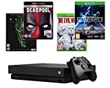 Xbox One X 1TB Console + Star Wars Battlefront 2 + Evil Within 2 + Deadpool (4K) + Alien: Covenant (4K)