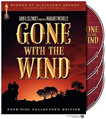 Gone With The Wind (4 Disc Collector's Edition Box Set) [1939] [DVD]