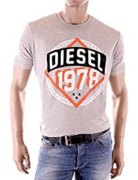 Tee Shirt Diesel T-Shielded 100 Blanc