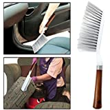 Long Bristle Carpet Upholstery Cleaning Brush for Home Car Carpets, Sofas, Curtains, Upholstery. (Random Colors)