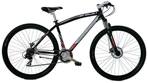 Girardengo Bicicleta Btt Acero Mtb Suspensión Del. Negro / Gris