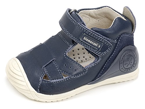 Biomecanics Unisex Baby 172141 Lauflernschuhe, Blau Blau (Navy Blue)