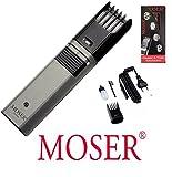 Regolabarba Moser con batteria e alimentatore di rete, fino a 21 mm di Lunghezza di taglio, 243429