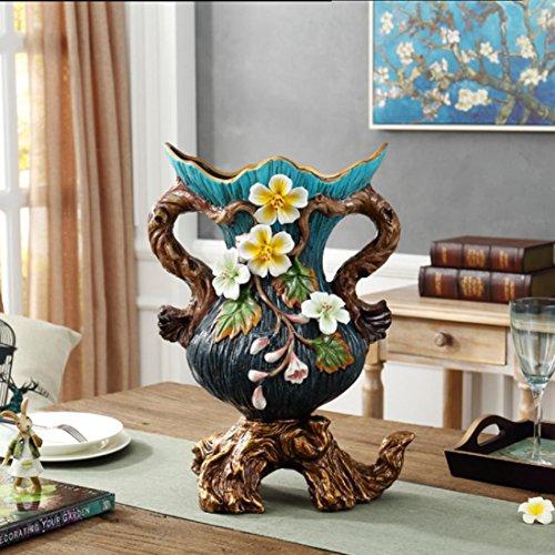 New day®-Moderna tipo dell'Europa che ristabilisce i vasi di terra, l'artigianato di ceramica decora regalo di nozze a casa decorazione 48 * 36 * 21 cm