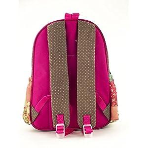 51foGEwRfrL. SS300  - Anekke Schulrucksack/Backpack mit 2 Reißverschlussfächern Sweet Mochila Tipo Casual, 35 cm, 12 Liters, Multicolor (Sweet…