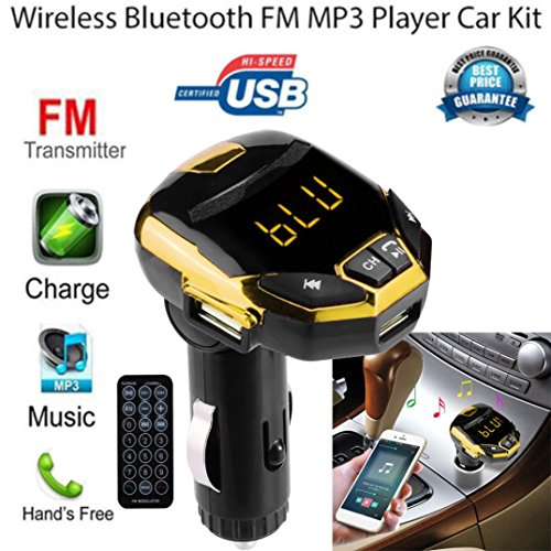 HKFV Wireless Bluetooth Ladegerät FM Transmitter Car Kit MP3-Musik-Player G7 Auto MP3 Hands Free Car Kit FM Transmitter