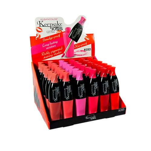 KLEANCOLOR Keepsake Kiss Lip Tint Display Set