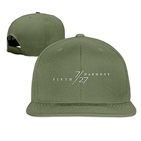 Hittings Fifth 727 Harmony Unisex Adjustable Flat Hat Bill Baseball Hats Outdoor Sports In 8 Colors ForestGreen