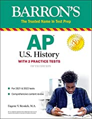 AP US History: With 2 Practice Tests